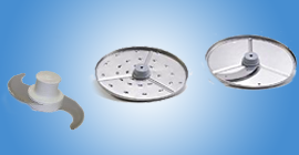 Food processor blades, robocoupe