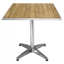 Ash Top Table Square 600mm