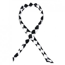 Whites Neckerchief Big Black and White Check