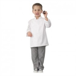 Chef Works Kids Chef Jackets White M