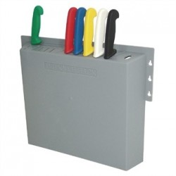 Hygiplas Plastic Knife Wall Rack 14 Slots