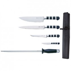 Dick 1905 5 Piece Knife Kit with Wallet