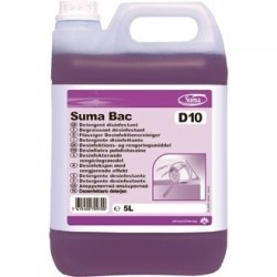 Suma Bac D10 Cleaner and Sanitiser 2 Pack