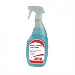 Jantex Glass and Stainless Steel Cleaner 6 x 750ml