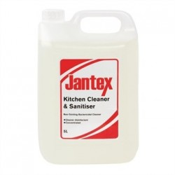Jantex Kitchen Cleaner and Sanitiser 2 x 5Ltr