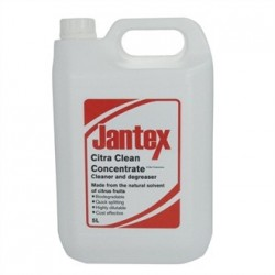 Jantex Orange Based Citrus Cleaner and Degreaser 2 x 5ltr