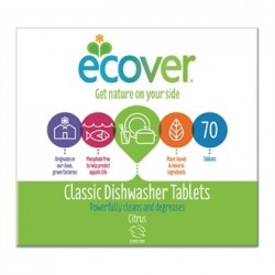Ecover Dishwasher Tabs 70 Tabs