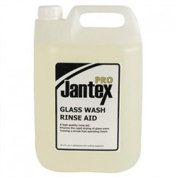 Jantex Pro Glass Washer Rinse Aid 5Ltr