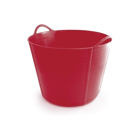 Red Plastic Trug 40Ltr