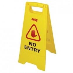 Jantex No Entry Safety Sign