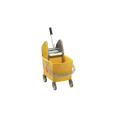 Rubbermaid Mop Wringer and Bucket Yellow