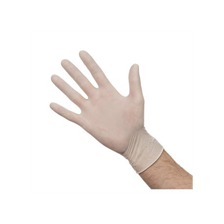 Powdered Latex Gloves M