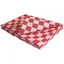 Vogue Chef Tea Towel Red