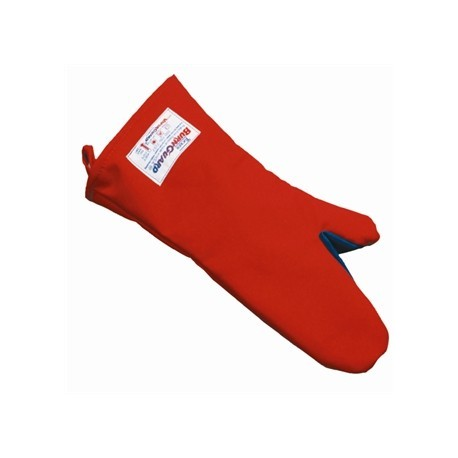 Burnguard Polycotton Oven Mitt 18 in