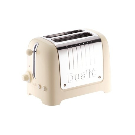 Dualit 2 Slice Lite Toaster Cream 26202