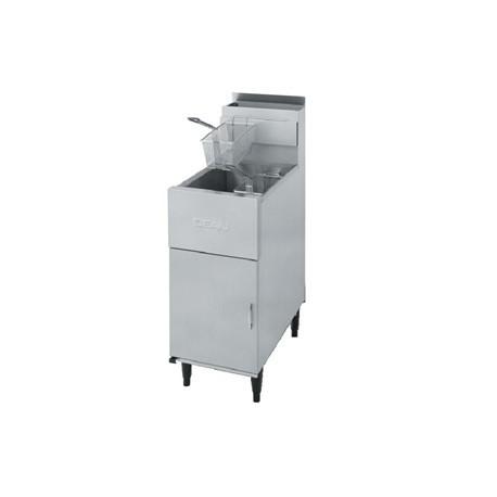 Dean Tube Single Natural Gas Fryer