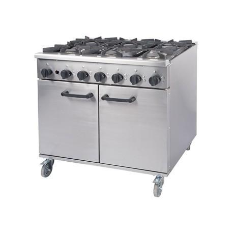 Burco Titan Gas Oven Range RG90LP