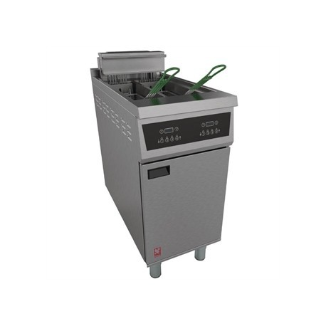 Falcon 400 Twin Pan Programmable Fryer E422