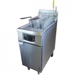 Falcon Twin Basket Natural Gas Fryer G2845F