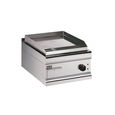 Lincat Silverlink 600 Machined Steel Electric Griddle 450mm Wide GS4/E