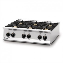 Lincat Opus 800 Natural Gas 6 Burner Boiling Top OG8004/N