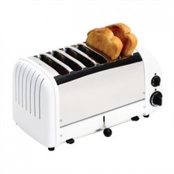 Dualit Bread Toaster 6 Slice White 60146