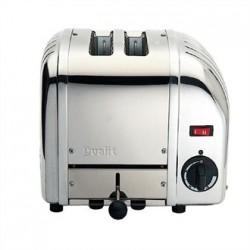 Dualit 2 Slice Vario Bread Toaster Stainless Steel 20245