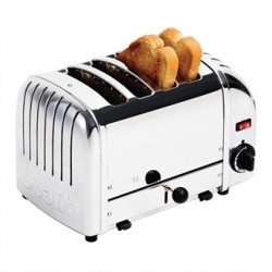Dualit Bread Toaster 4 Slice Stainless 40352