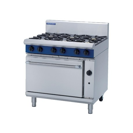 Blue Seal Natural Gas Oven Range G506D-NAT