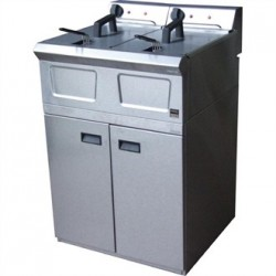 Falcon Pro-Lite Free Standing Double Electric Fryer LD48
