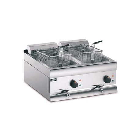 Lincat Silverlink Double Tank Countertop Fryer DF618