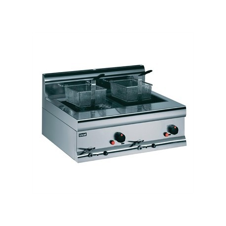 Lincat Silverlink Double Tank Countertop Fryer DF7/N