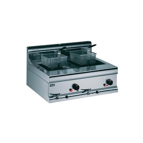 Lincat Silverlink Double Tank Countertop Fryer DF7/P