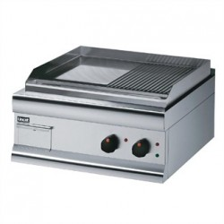 Lincat Silverlink 600 Half Ribbed Dual zone Electric Griddle GS6/TR