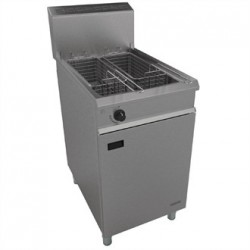 Falcon Chieftain Twin Basket Natural Gas Fryer G1838X