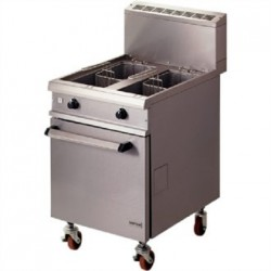 Falcon Chieftain Twin Pan Natural Gas Fryer G1848X