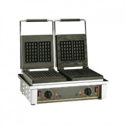 Roller Grill Double Belgian Waffle Maker GED20