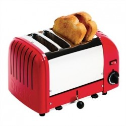 Dualit 4 Slice Vario Toaster Red 40353