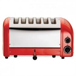 Dualit 6 Slice Vario Toaster Red 60154