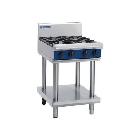 Blue Seal Evolution Cooktop 4 Open Burners LPG on Stand 600mm G514D-LS/L
