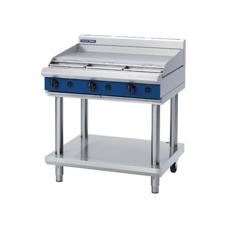 Blue Seal Evolution Cooktop Griddle Burner Nat Gas on Stand 900mm G516A-LS/N