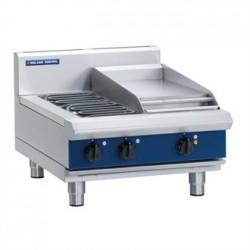 Blue Seal Evolution Cooktop 2 Element/ Griddle Electric 600mm E514C-B