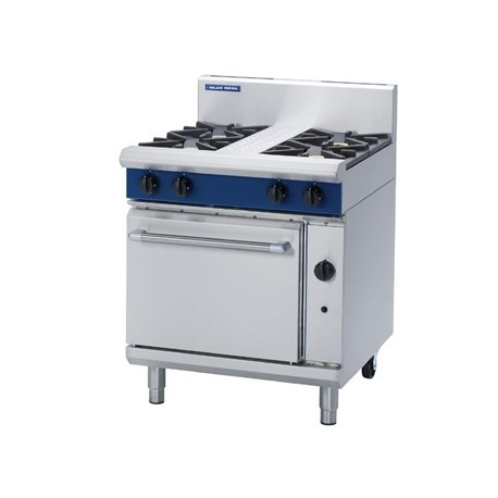 Blue Seal Evolution 4 Burner Static Oven Natural Gas 750mm G505D/N