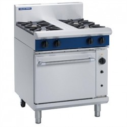 Blue Seal Evolution 4 Burner Convection Oven LPG 750mm G54D/L