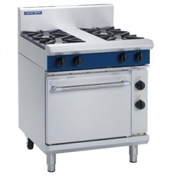 Blue Seal Evolution 4 Burner Electric Static Oven LPG 750mm GE505D/L