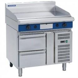 Blue Seal Evolution Griddle Refrigerated Base Nat Gas 900mm GP516-RB/N