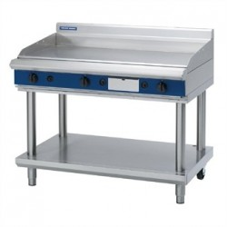 Blue Seal Evolution Chrome Griddle with Leg Stand Nat Gas 1200mm GP518-LS/N