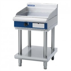 Blue Seal Evolution Chrome Griddle with Leg Stand Electric 600mm EP514-LS
