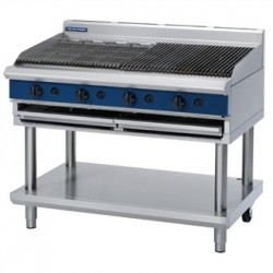 Blue Seal Evolution Chargrill with Leg Stand Nat Gas 1200mm G598-LS/N