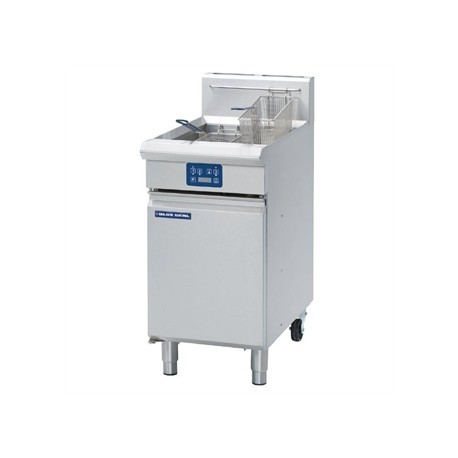 Blue Seal Evolution Vee Ray Single Tank Fryer with Elec LPG450mm GT45E/L